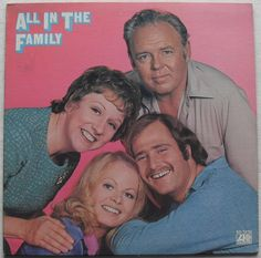1971 ALL IN THE FAMILY 1970s TV Show LP record album vintage vinyl A by Christian Montone, via Flickr