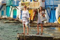 Discover the most exotic places with loose and comfy sartorial choices! Exotic Places, Spring Summer 2015, Kaftan, Choices, Style Fashion, Editorial, Campaign, Cover Up, Tunic