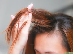 How to Apply Castor Oil for Hair. Castor oil has long been used as a remedy for hair loss and thinning hair. It has many other uses as well, including moisturizing dry hair, taming frizz, and managing tangles. It can also make your hair. Castor Oil For Hair, Hair Oil, Grow Long Hair, Grow Hair, Healthy Beauty, Healthy Hair, Stay Healthy, Rosemary For Hair, How To Grow Your Hair Faster