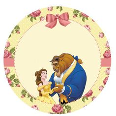 A Bela e a fera - Kit festa grátis para imprimir - Inspire sua Festa ® - Disney Princess Party, Princess Birthday, Girl Birthday, Beauty And The Beast Party, Disney Beauty And The Beast, All Disney Princesses, Princess Beauty, Disney Artwork, 4th Birthday Parties