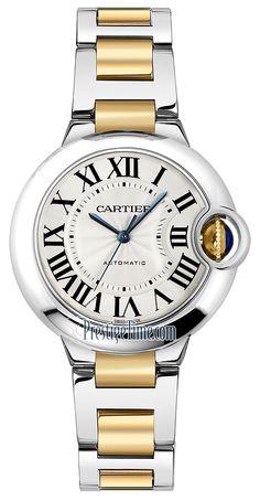 w2bb0002 Cartier Ballon Bleu 33mm Ladies Watch
