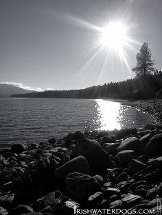 Grand forks lake, hiking BC, Canada.
