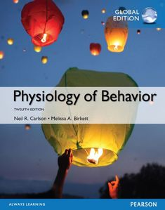 Physiology of Behavior 12th 12E by Neil Carlson  ISBN-13:9781292158105 (978-1-292-15810-5)ISBN-10:1292158107 (1-292-15810-7) Psychology Textbook, Behavioral Neuroscience, Online Textbook, Paper Book, Always Learning, Ebook Pdf, Case Study, Reading Online, Good Books
