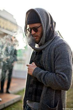 Daniel, Pitti Uomo, Men, Street Style, Florence, Hoodie perfect look #pittiuomo