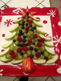Fruit for Christmas!  via Copy-Kids