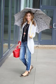 Lilly Style: boyfriend jeans and some rain