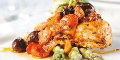Hauts de cuisse de poulet à la provençale