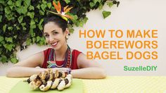 How to make Boerewors Bagel Dogs | SuzelleDIY