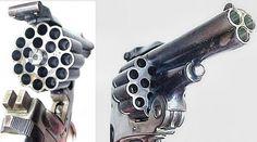 This Italian triple-barrel revolver is a challenger for most unusual handgun we've seen.