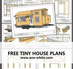Ana White | Build a Quartz Tiny House - Free Tiny House Plans | Free and Easy…