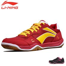 Fashion Li-Ning Woman Badminton Shoe Light Weight Shock-Absorbant Women Tennis and badminton Sport shoes Lining…