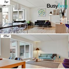 Condo in Copenhagen styled by Busy Bees