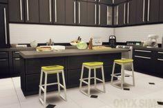 Sit and Dip Bar Stool at Onyx Sims via Sims 4 Updates