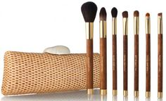 Love this set. you can get it at target for about $20-$25. maybe not this Exact set. but one like it. and it comes with a cute case!  the blush/bronzer brush is really good. its soft and distributes the color evenly. the concealer/foundation brush(at least thats what i use it for)  its great for those little spots you want to cover up as well as covering your whole face with foundation. keeps your fingers and hands clean of foundation and i found applying goes faster with this. im actually…