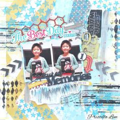 Sharing a project for my guest designing stint with CSI Scrapbooking. Do visit blog for more details.  Thanks for looking. http://growingwithgabriel.blogspot.sg/2016/03/guest-designer-at-csi-scrapbooking.html
