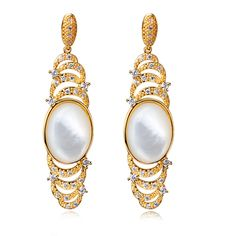 Find More Drop Earrings Information about New Arrival Women Long Mother of Pearl Shell Drop Earrings Clear White Cubic Zirconia Silver Pin Gold 18K Gun & Platinum Plated,High Quality platinum,China platinum shoes Suppliers, Cheap earrings blue from ANGEL in Fashion Jewelry on Aliexpress.com