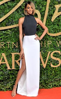 Jourdan Dunn from 2015 British Fashion Awards Red Carpet Arrivals | E! Online