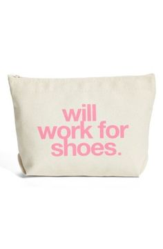 Will work for shoes. Seriously. $24