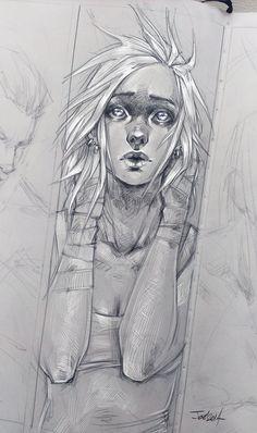 Nikky sketch by sashajoe.deviantart.com on @DeviantArt