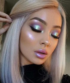 Eye Makeup Ideas for 2018 50 Eye Makeup Ideas for 2018 – Das schönste Make-up Cute Makeup, Glam Makeup, Gorgeous Makeup, Pretty Makeup, Makeup Inspo, Eyeshadow Makeup, Makeup Inspiration, Hair Makeup, Makeup Art