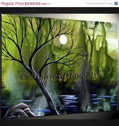 ON SALE Original Abstract modern Paintings by orignalmodernart, $174.30