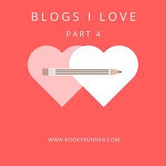 Blogs I Love (Part 4) - KookyRunnerBloglovinInstagramPinterestTwitter