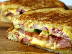 4th of July Grilled Cheese