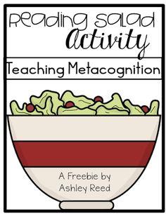 https://www.teacherspayteachers.com/Product/Metacognition-with-Reading-Salad-FREEBIE-2003902
