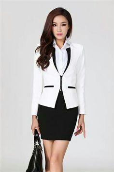 Blanco negro formal