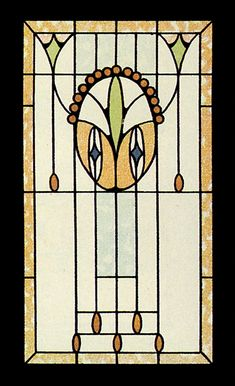 Viennese Art Nouveau Stained Glass Designs CD-ROM and Book