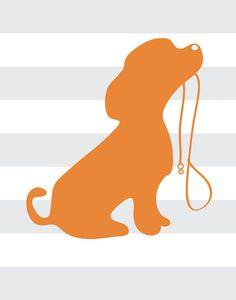INSTANT DOWNLOAD   1 JPEG  puppy love nursery by giraffesnstuff, $7.99