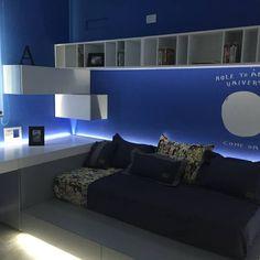 Maximizando espacios en el dormitorio. Más ideas en www.homify.com.ar/espacios/dormitorios