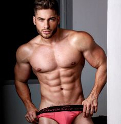 Astonishing gorgeous muscle hunk davide dali