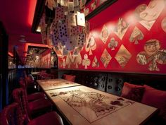 Tokyo's Most Unusual Restaurants Offer More Than Food ALICE IN WONDERLAND!!!!!