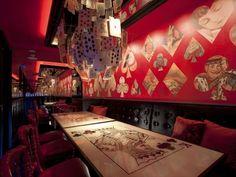 Tokyo's Most Unusual Restaurants Offer More Than Food   ALICE IN WONDERLAND!!!!!
