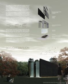 Skylight plavilion