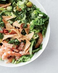 Mexican Shrimp-and-Avocado Salad with Tortilla Chips Recipe on Food & Wine