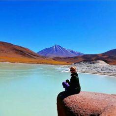 Amazing view from San Pedro De Atacama in Chile! We're totally jealous of @serenalisney right now. Thanks for the #gapsnap! #atacamadesert #atacama #chile #chilegram #mountains #mountainscape #travel #traveling #travelling #travelgram