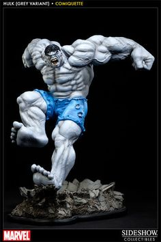 Sideshow Marvel Grey Hulk Comiquette - Avengers