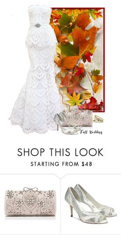 """""""Autumn wedding"""" by fashionrushs ❤ liked on Polyvore featuring Forever New, Oscar de la Renta, Benjamin Adams and Annello"""