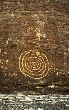 Spiral Snake - Randy Langstraat, rockart.me, Nine Mile Canyon - Family Panel / anasazi photography