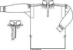 Man's Shirt 1790-1830. English Style Pattern by Kannik's Korner Patterns, http://www.amazon.com/dp/B005V64VQ2/ref=cm_sw_r_pi_dp_ec7trb1ADYXY1