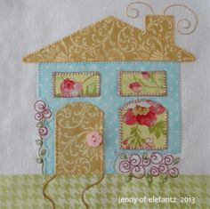 "Jenny of ELEFANTZ: Blocks 1 & 2 of ""Shabby Roses Home"" and giveaway!"