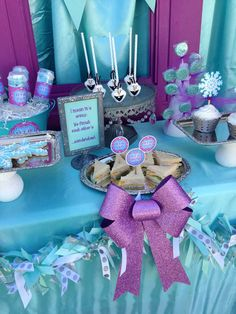 Frozen Movie Night Party Ideas | Photo 1 of 12 | Catch My Party