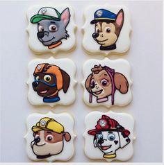 """Jessica Edwards on Instagram: """"#pawpatrol #decoratedcookies #customcookies #pawpatrolcookies #cookies #saskatoon #yxe"""""""