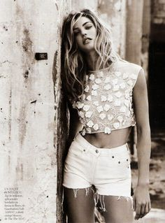 Editorial with Candice swanepoel