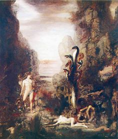 Hercules and the Hydra Lernaean - Gustave Moreau