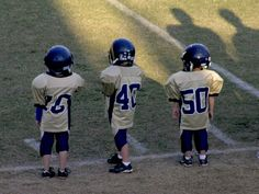 They may be small, but they can still play football!