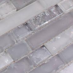 Glass tiles ice crack crystal mosaic deco mesh wholesale kitchen backsplash bathroom shower design art wall tile mirror sheets-in Mosaics from Home Improvement on Aliexpress.com