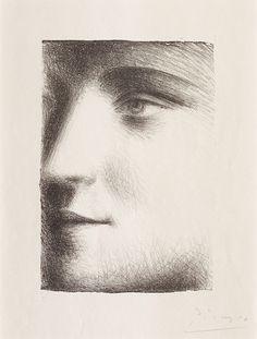 Pablo Picasso | Visage de Marie Therese (1928)
